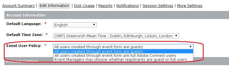 Event user policy-2